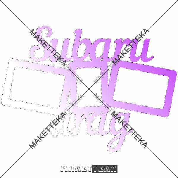 "Рамка ""Subaru"""