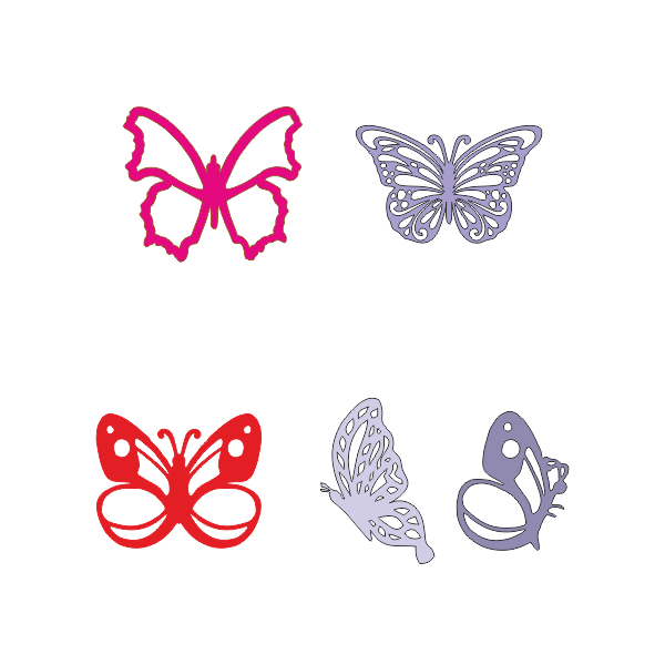 Бабочки, бабочка, декор, Butterflies, butterfly, decor