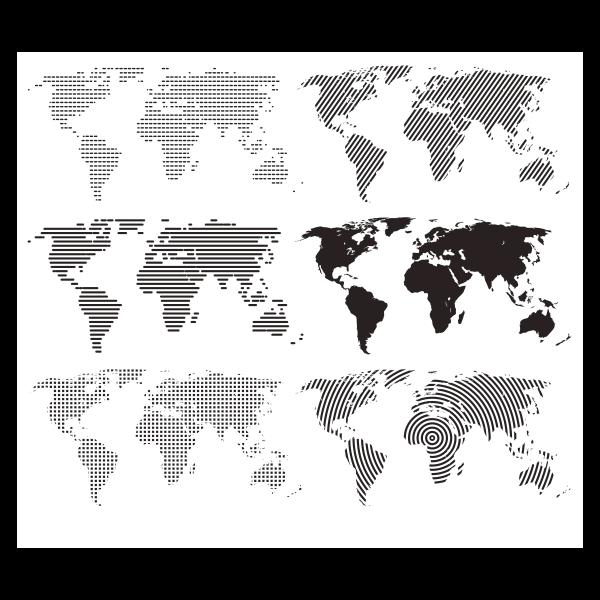 Карта мира, World map