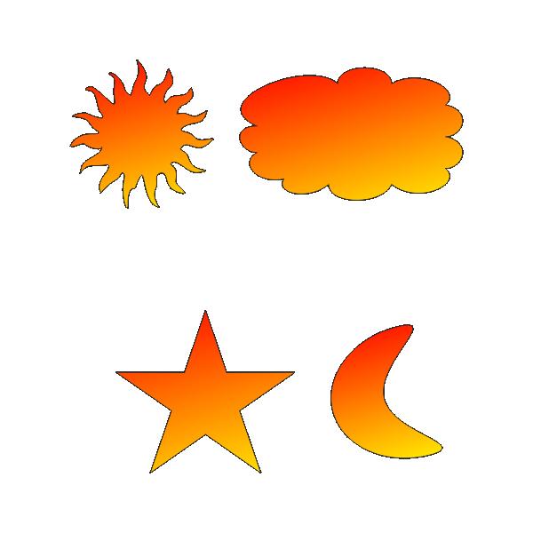 Звезда, тучка, луна, солнце, игрушки, декупаж, Star, cloud, moon, sun, toys, decoupage