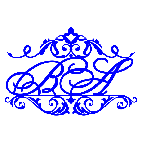 Лого рамка свадебный герб