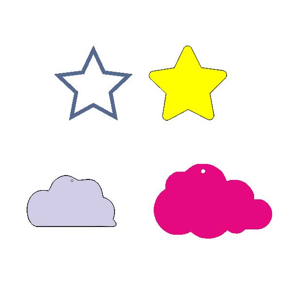 Звезда, метрики, тучка, луна, солнце, игрушки, декупаж, Star, cloud, moon, sun, toys, decoupage