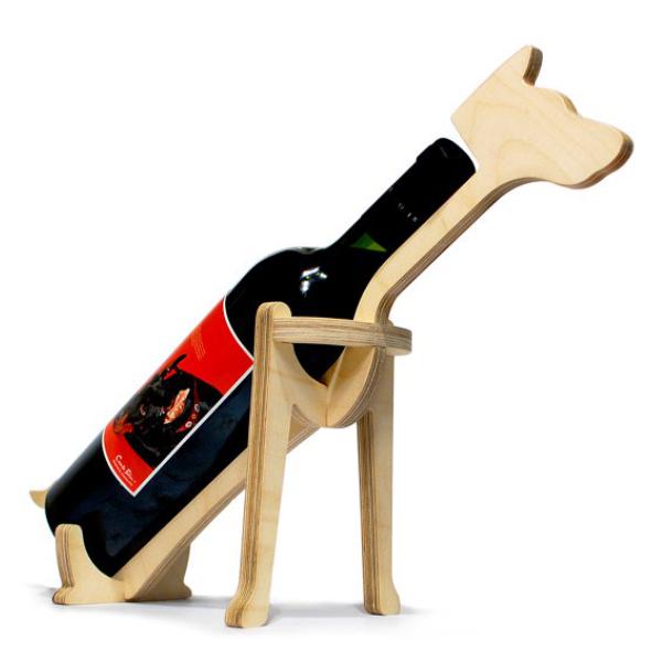 Подставка под бутылку, под вино, пес, собака, на стол, подарок, макет, вектор, лазерная резка, фрезерная резка