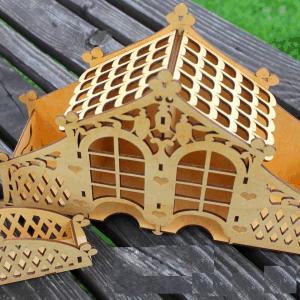 Чайный домик, кровля, домик, Tea house, roof, house