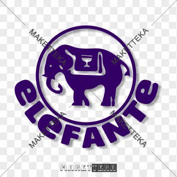"""Логотип """"Слон, Elefante"""""""