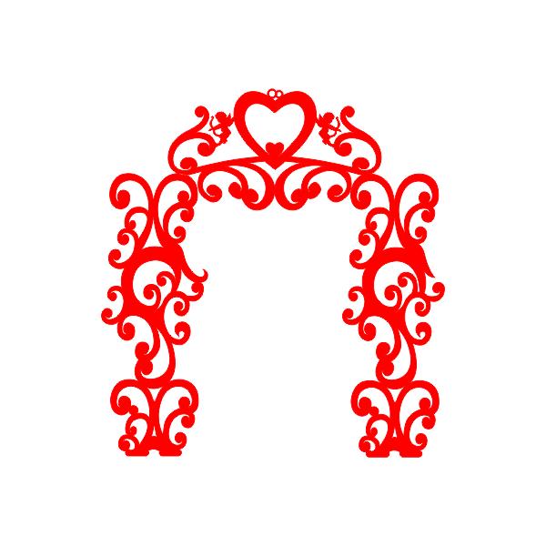Ширма, арка, декор, свадьба, сердце, ветки, завитки