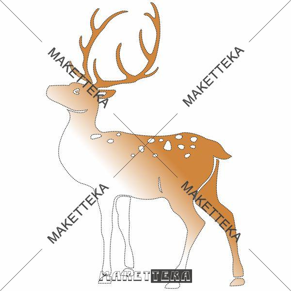 """Декор """"Олень"""" Deer"""
