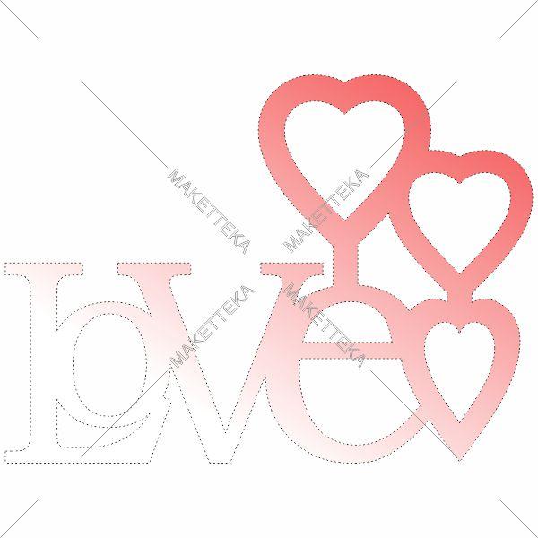 Love, сердце, любовь
