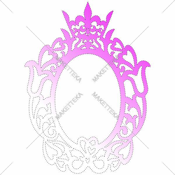 Корона, фоторамка, рамка, на свадьбу, под инициалы