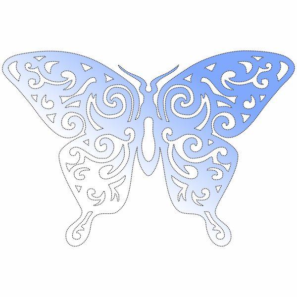 Декор, бабочка, узор