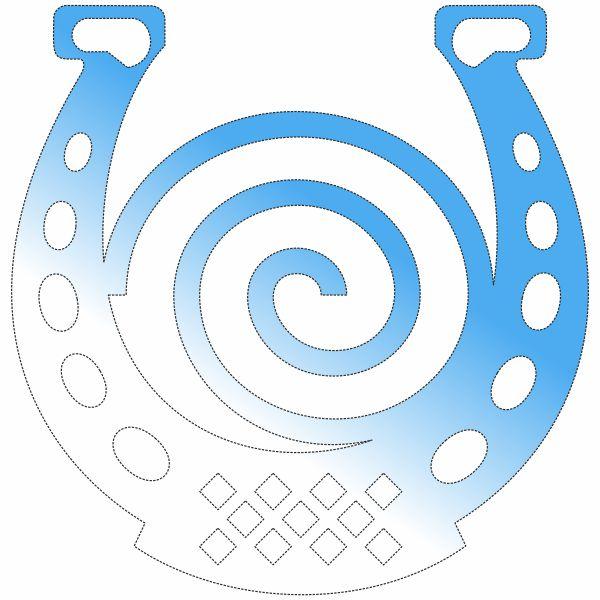 Подкова, спираль, амулет