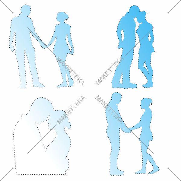 Люди, парень девушка, обнимании