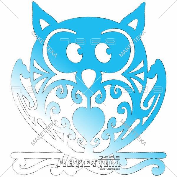 Сова, птица, An owl, a bird