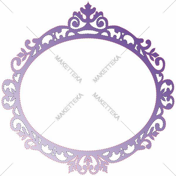Фоторамка, рамка, границы, овал, орнамент, узор, вензель, рама, на свадьбу