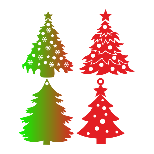 Елка, Новый год, звезда, шары, гирлянда, рождество, дерево, снежинки